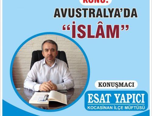 Avustralya'da İslam – Esat Yapıcı