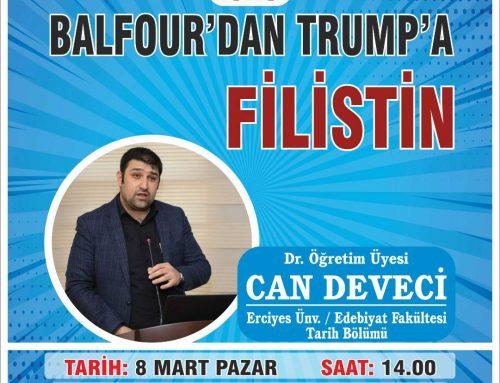 Balfour'dan Trump'a Filistin